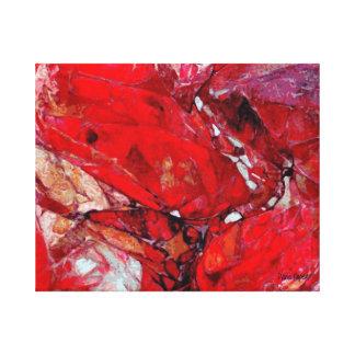 Ruby Rocks Canvas Print