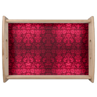 Ruby_Slippers*  - Damask-Small_Multi-Functional_ Serving Tray