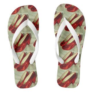Ruby Slippers flip flops! Flip Flops