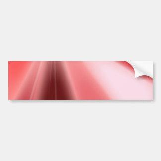 Ruby Starburst Bumper Sticker