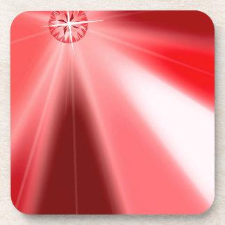 Ruby Starburst Coaster