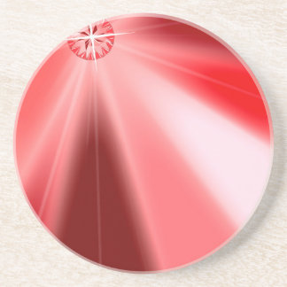 Ruby Starburst Coaster