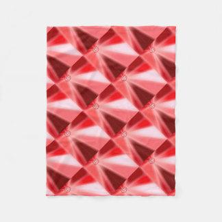 Ruby Starburst Fleece Blanket