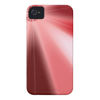 Ruby Starburst iPhone 4 Case-Mate Case