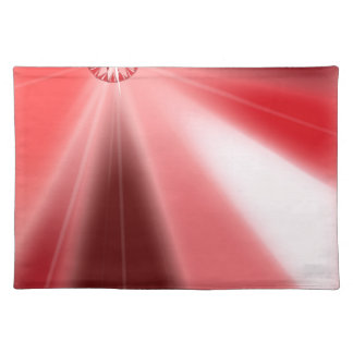 Ruby Starburst Placemat