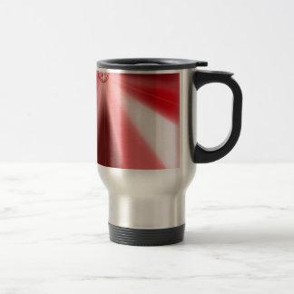 Ruby Starburst Travel Mug