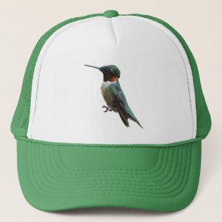 Ruby-Throated Hummingbird Bird Photography Trucker Hat