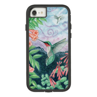 Ruby Throated Hummingbird Orig Art iPhone 7/8 Case