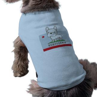 Rubyfornia Doggie T-shirt