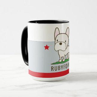 Rubyfornia Ringer Mug