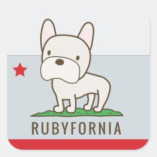 Rubyfornia Stickers