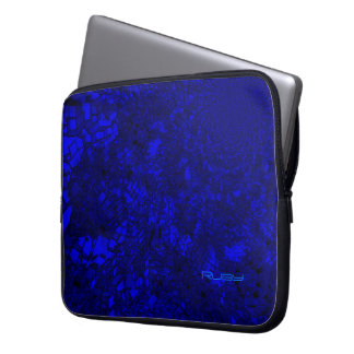 Ruby's blue Laptop sleeve