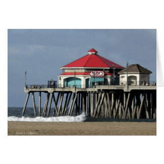 Ruby's Diner - Huntington Beach Pier Card