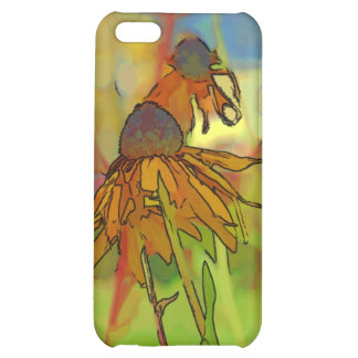 Rudbeckia Bloom Cover For iPhone 5C