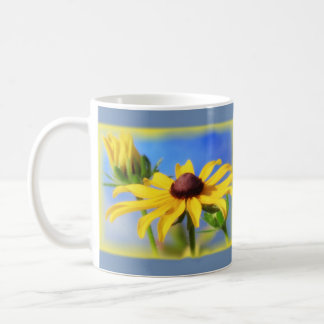 Rudbeckia Blues - Vignette Coffee Mug