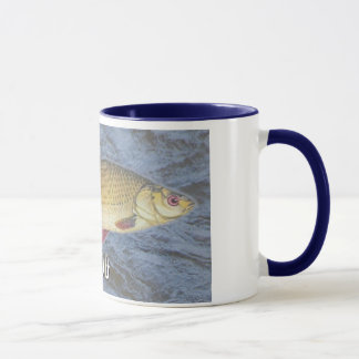Rudd Freshwater Fish, With Water Background Image Mug