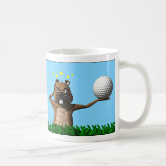 Rude Awakening Groundhog Day Mug