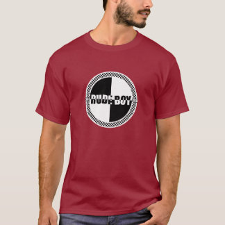 Rude Boy Checker Dark T-Shirt
