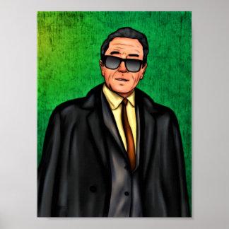 "Rude Boy USA - Bernie Banks Poster 36"" x 24"""