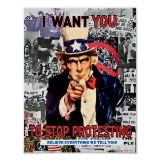 Rude Boy USA Protest Poster