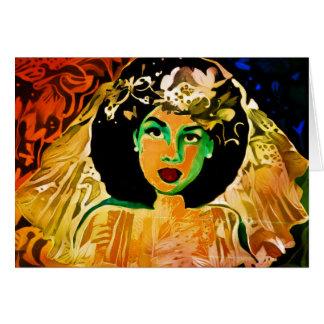 Rude Boy USA Series - Celia Wedding Afro Card