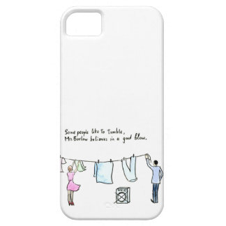 Rude Laundry Joke Good Blow iPhone 5 Cover