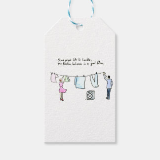 Rude Laundry Joke Good Blow Pack Of Gift Tags