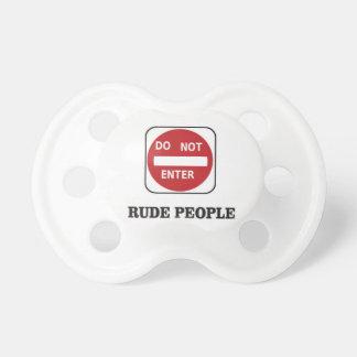 rude ones pacifiers