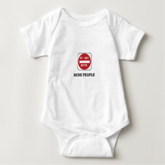 rude people dne baby bodysuit