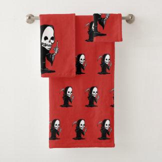 Rude Reaper Bath Towel Set