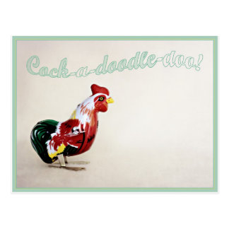 Rude Rooster Postcard