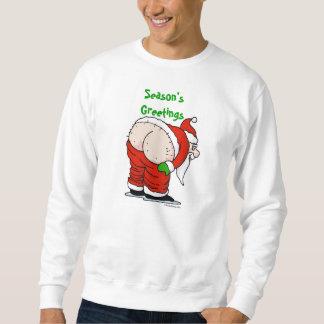 Rude Santa Sweatshirt