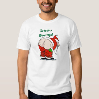 Rude Santa T-shirt
