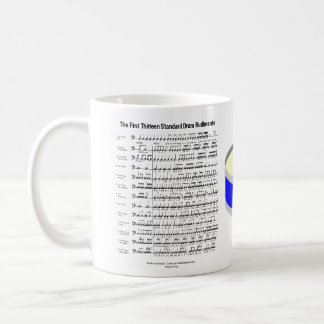 rudiments coffee mug