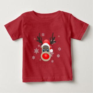 Rudolf - Christmas reindeer Baby T-Shirt