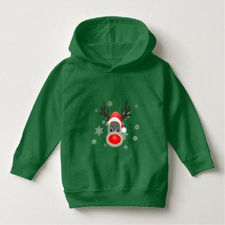 Rudolf - Christmas reindeer Hoodie