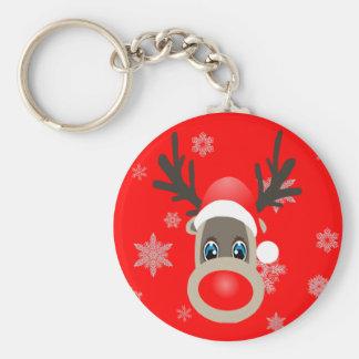 Rudolf - Christmas reindeer Keychain