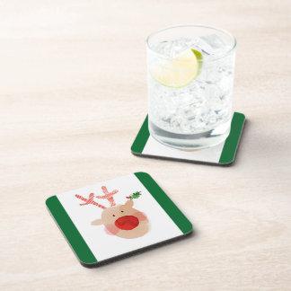 'Rudolf' Set of 6 Coasters