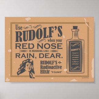 Rudolf's Radioactive Elixir Poster