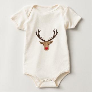 Rudolph Baby Bodysuit