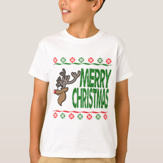 Rudolph Deer Merry Christmas Ugly Xmas Sweater