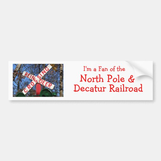 Rudolph Express Bumper Sticker