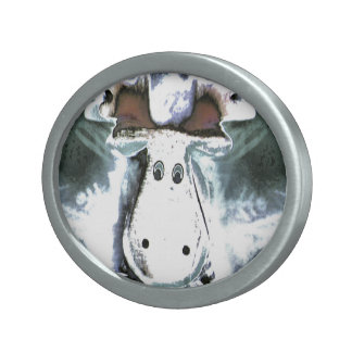 Rudolph Oval Belt Buckle