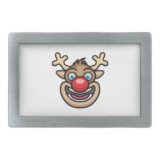 Rudolph Rectangular Belt Buckle