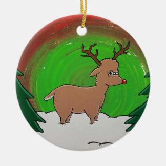 Rudolph Reindeer Ornament