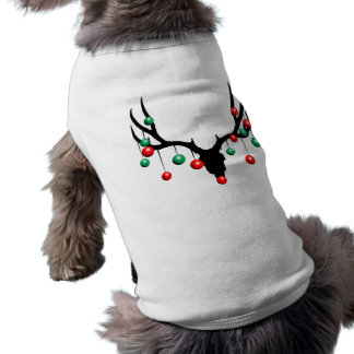 Rudolph the Dead Nosed Reindeer Doggie Tee Shirt