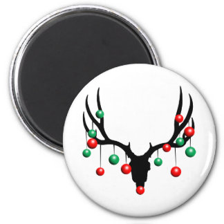 Rudolph the Dead Nosed Reindeer Magnet