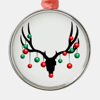 Rudolph the Dead Nosed Reindeer Metal Ornament