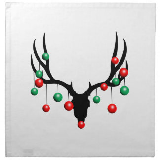 Rudolph the Dead Nosed Reindeer Napkin