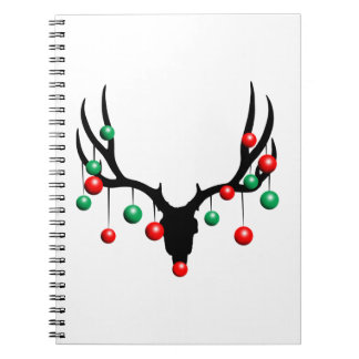 Rudolph the Dead Nosed Reindeer Notebook